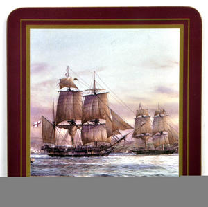 Ocean Explorers - Box Set of 6 Ship Coasters Thumbnail 6