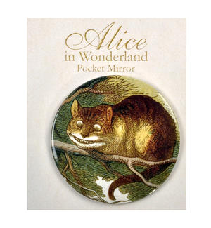Cheshire Cat Compact Pocket Handbag Mirror - Alice in Wonderland Thumbnail 2