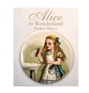 Drink Me Alice Compact Pocket Handbag Mirror - Alice in Wonderland Thumbnail 2