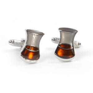 Cufflinks - Malt Whiskey Glass