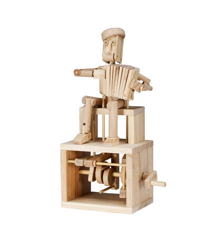 Timberkits - Accordion Player Automaton
