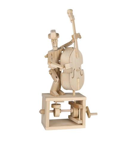 Timberkits - Double Bass Player Automaton