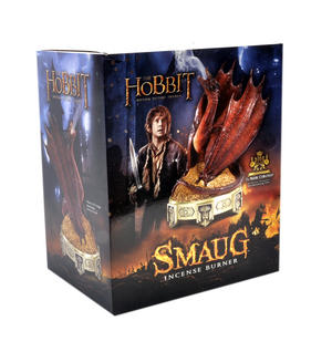 The Hobbit Smaug Incense Burner by The Noble Collection Thumbnail 3