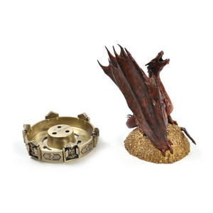 The Hobbit Smaug Incense Burner by The Noble Collection Thumbnail 5