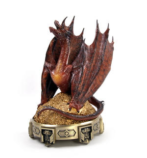 The Hobbit Smaug Incense Burner by The Noble Collection Thumbnail 6