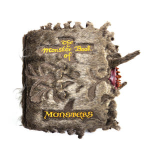 Harry Potter Monster Book of Monsters Cushion by The Noble Collection Thumbnail 1