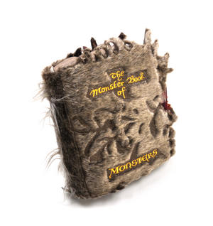 Harry Potter Monster Book of Monsters Cushion by The Noble Collection Thumbnail 6