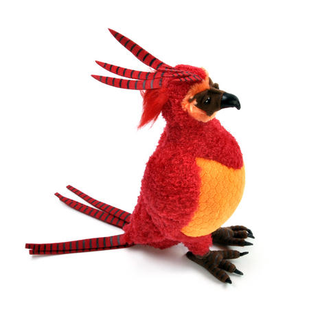 "Harry Potter Fawkes Plush 12"" by The Noble Collection"