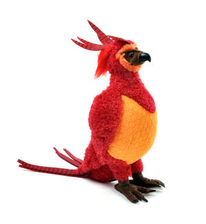 "Harry Potter Fawkes Plush 12"" by The Noble Collection Thumbnail 6"