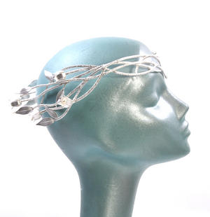 The Hobbit Galadriel's Headress Crown by The Noble Collection Thumbnail 3