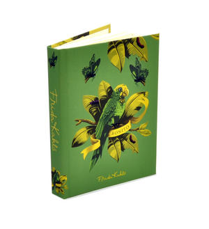 Frida Kahlo - Benito the Parrot A6 Hardback Address Book Thumbnail 2