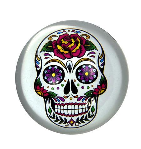 Frida Kahlo Sugar Skull Paperweight in Presentation Box