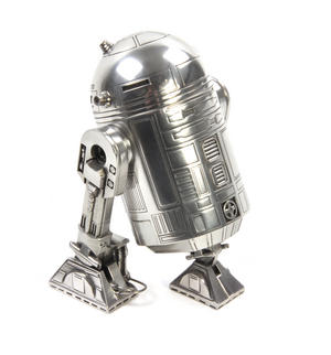 Star Wars R2D2  Secret Stash Pewter Container by Royal Selangor