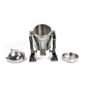 Star Wars R2D2  Secret Stash Pewter Container by Royal Selangor Thumbnail 4
