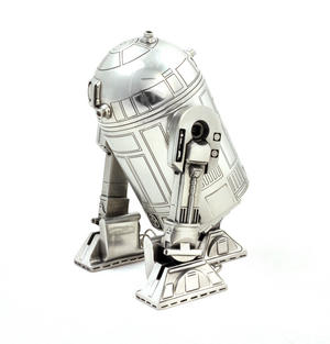 Star Wars R2D2  Secret Stash Pewter Container by Royal Selangor Thumbnail 6