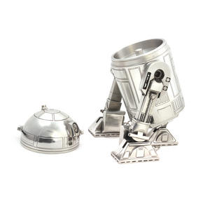Star Wars R2D2  Secret Stash Pewter Container by Royal Selangor Thumbnail 7