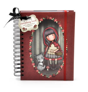 Everything Book - Little Red Riding Hood Journal by Gorjuss Thumbnail 1