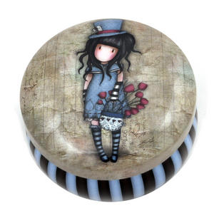 Hatter Trinket Tin by Gorjuss