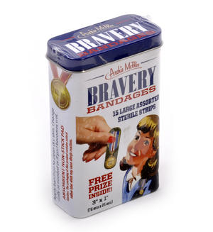 Bravery Bandages - First Aid In A Tin - Plasters / Band Aids Thumbnail 2