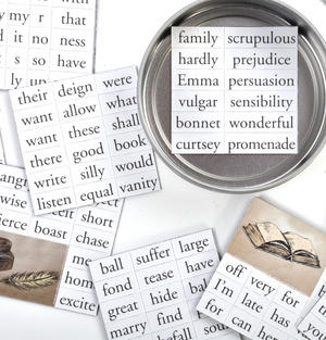 Sense and Sensibility Fridge Magnet Set - Jane Austen Fridge Poetry Thumbnail 2