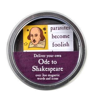 Ode to Shakespeare Fridge Magnet Set - Bardic Fridge Poetry Thumbnail 3