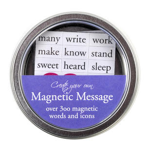 Magnetic Message Fridge Magnet Poetry Set - Memo Fridge Poetry Thumbnail 3