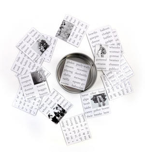 Scots Banter Fridge Magnet Poetry Set - Scottish Fridge Poetry