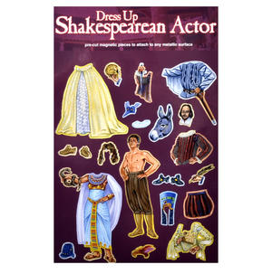 Dress-Up Shakespearean Actor Fridge Magnet Set