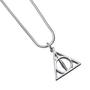 Deathly Hallows - Harry Potter Silver Plated Necklace WN0054