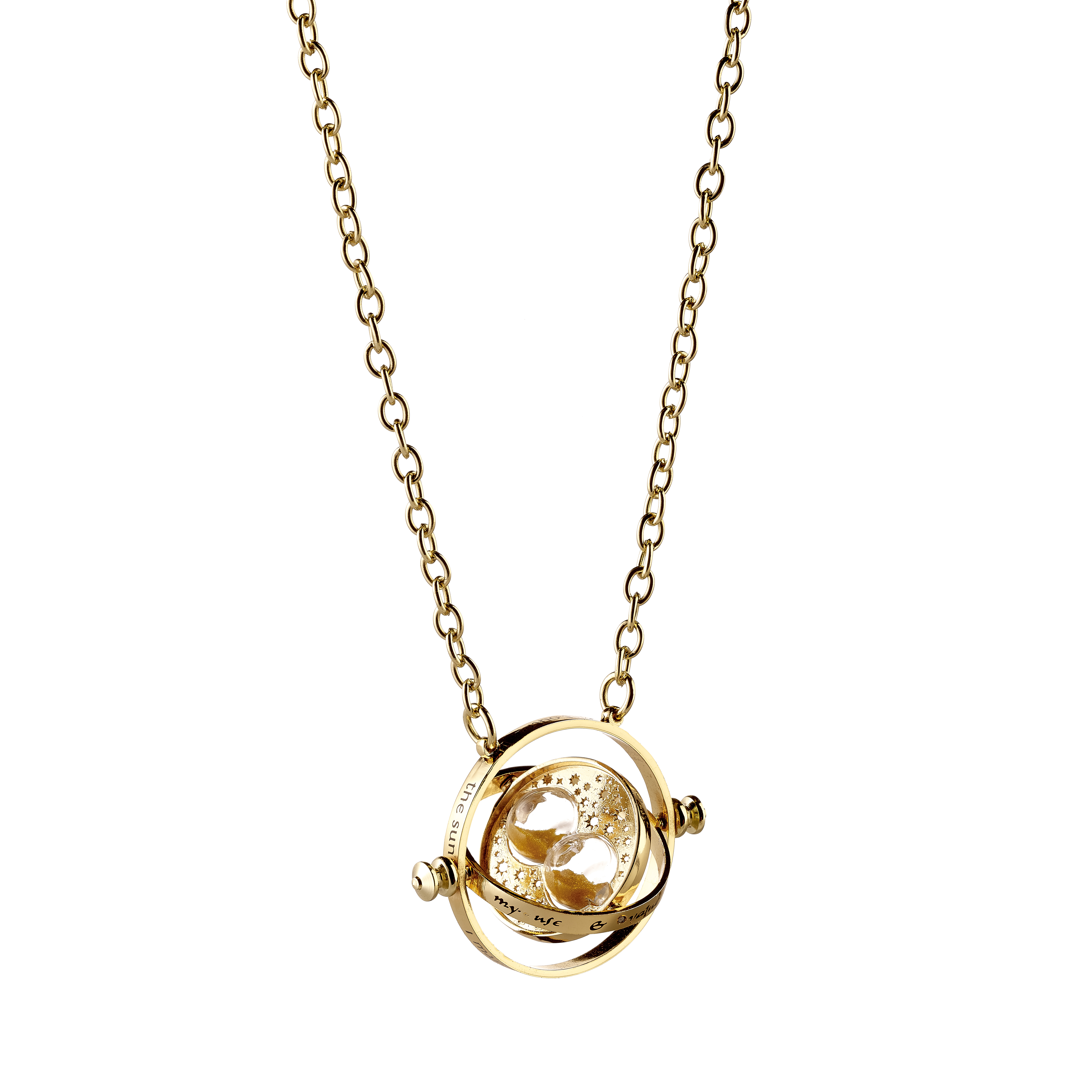 how to make a time turner necklace