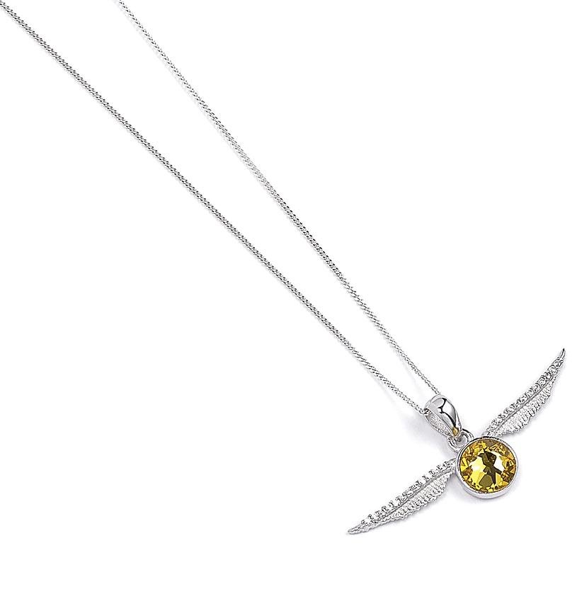 9885356723bd Boxed Swarovski Snitch - Sterling Silver Harry Potter Crystal Necklace