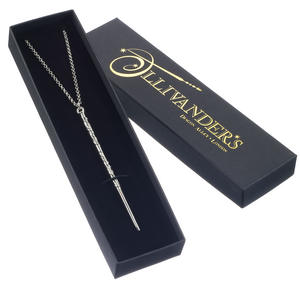 Hermione Grainger's Wand in Ollivander's Box- Harry Potter Necklace GH0002 Thumbnail 4