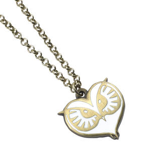 Owl Face -  Fantastic Beasts Necklace FN0008 Thumbnail 1