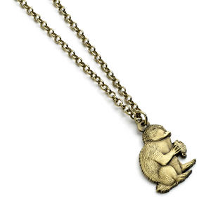 Antique Brass Niffler - Fantastic Beasts Necklace FN0018