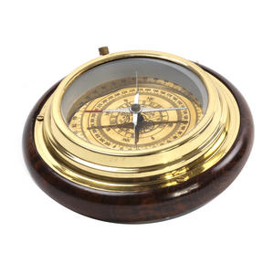 Marine Desk Compass - Brass