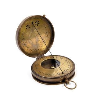 Royal Navy Kelvin Replica Mariner's Compass Thumbnail 1