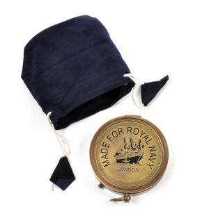 Royal Navy Kelvin Replica Mariner's Compass Thumbnail 8