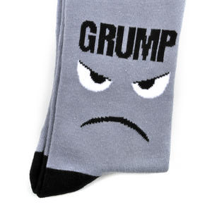 Grump Socks - Soft Combed Cotton Socks - Men's Crew