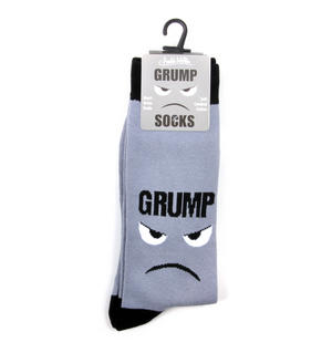 Grump Socks - Soft Combed Cotton Socks - Men's Crew Thumbnail 2