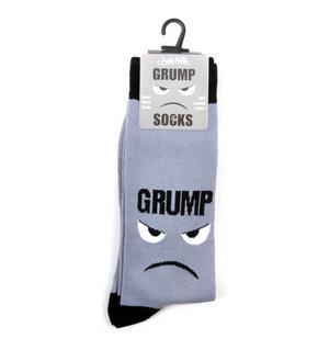 Grump Socks - Soft Combed Cotton Socks - Men's Crew Thumbnail 2
