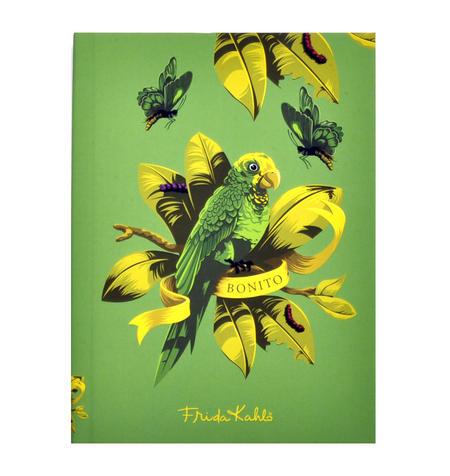 Frida Kahlo - Bonito the Parrot A6 Hardback Notebook