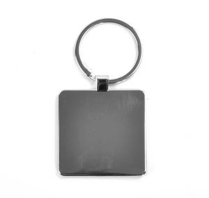 Modern Art Cubist Keyring - After Mondrian Thumbnail 2