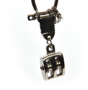 Ship Pulley Block - Key Fob with Three Keyrings Thumbnail 1