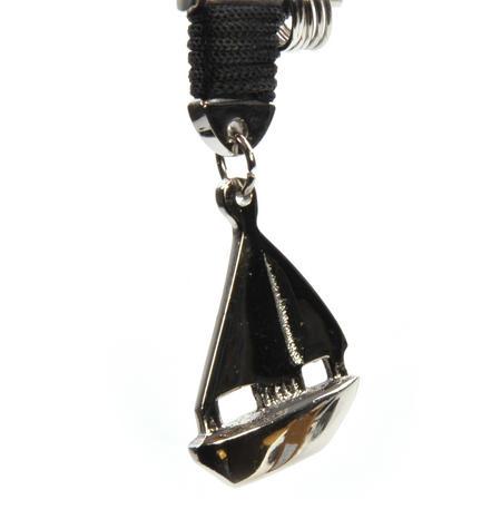 Sailing Boat - Key Fob with Three Keyrings