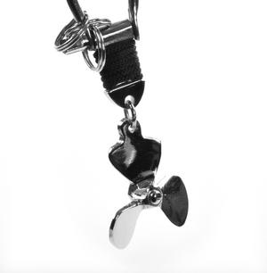 Propeller - Key Fob with Three Keyrings Thumbnail 1