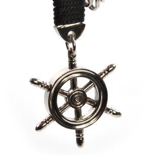Ship's Wheel - Key Fob with Three Keyrings Thumbnail 1