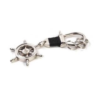 Ship's Wheel - Key Fob with Three Keyrings Thumbnail 3