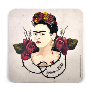 Frida Kahlo Portrait Pot Stand
