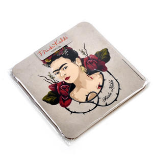 Frida Kahlo Portrait Pot Stand Thumbnail 3