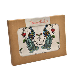 Frida Kahlo Peacock Set of Four Place Mats / Tablemats Thumbnail 2